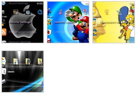 themes psp pack descargar 7 temas para psp universo guia