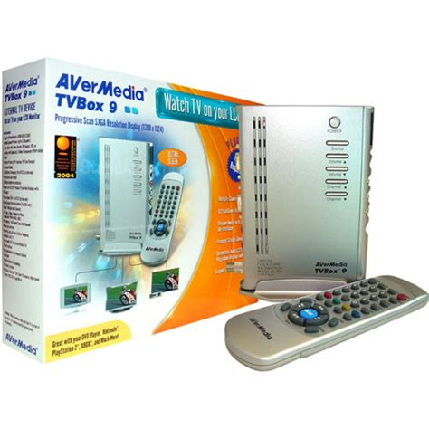 Tv Tuner Untuk Layar Lcd avermedia tvbox9 widescreen sxga tv tuner for lcd