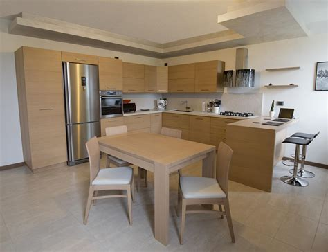 cucina in rovere cucina moderna in rovere spazzolato