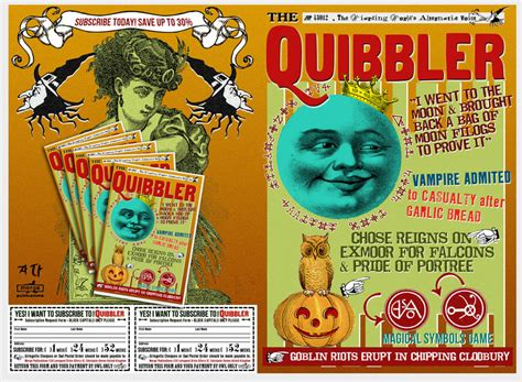 printable quibbler cover quibbler 4 by wiwinjer on deviantart
