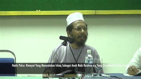 film nabi ismail disembelih kenali hadis palsu ishaq sebagai anak nabi ibrahim a s