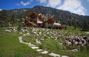 Log Cabin Luxury Homes by Log Cabin In Loveland Colorado