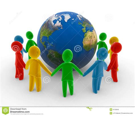 Free Online Architecture Design global human chain royalty free stock image image 9133846
