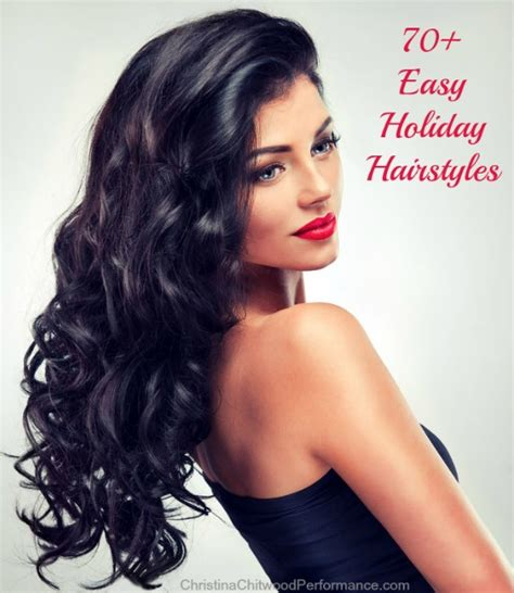 latest holiday wood hairstyles 70 easy holiday hairstyles