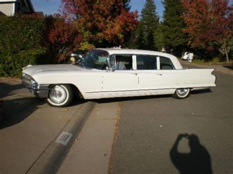 1962 Cadillac Limo by Find Used 1962 Cadillac Limousine In Rocklin California