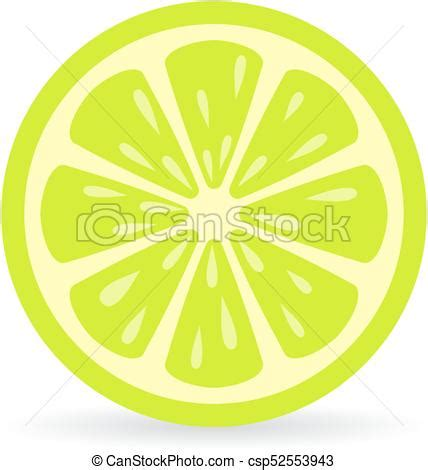 lime slice silhouette lime slice vector icon isolated on white background eps