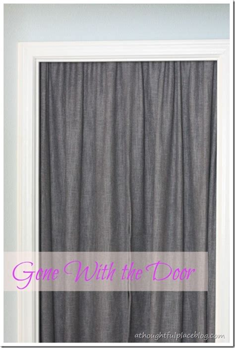 Closet door curtains on pinterest closet curtain door curtain closet and ikea panel curtains