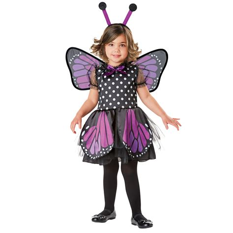 Butterfly Costume totally ghoul toddler purple monarch butterfly