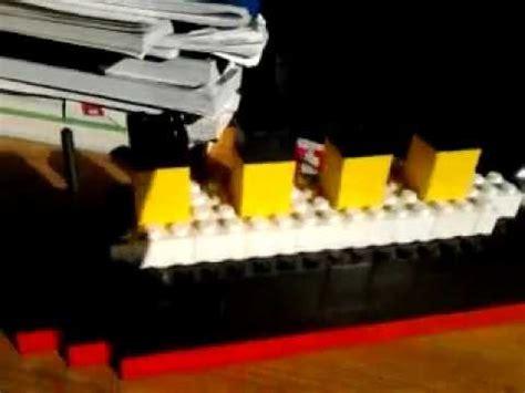 film titanic lego titanic di lego antomio youtube
