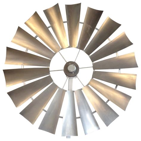 windmill fan unique windmill ceiling fan 66 quot galvanized silver
