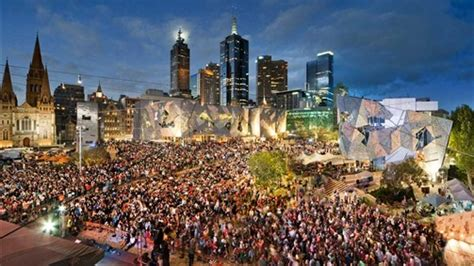 new year melbourne fed square free attractions things to do melbourne australia