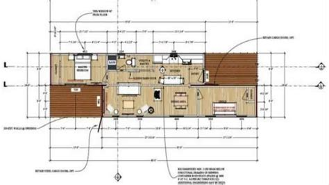 shipping container house plans pdf