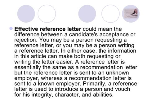 Reference Letter Known Person how to address a reference letter an unknown person
