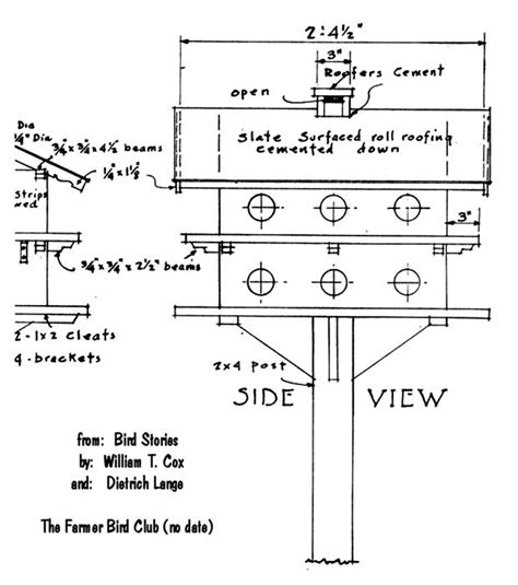 martin house plans exceptional purple martin house plans 2 purple martin bird house plans smalltowndjs com