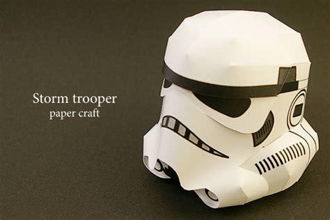 Stormtrooper Papercraft Helmet - wars stormtrooper helmet ver 3 free papercraft