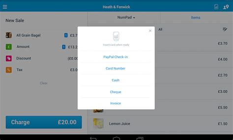 paypal app for android paypal here app is now available for android tablets
