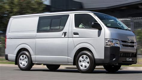 Toyota Commercial Vans Toyota Hiace Lwb Crew 2017 Review Carsguide