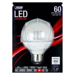 60 watt led light bulbs feit 60 watt g25 led light bulb soft white target