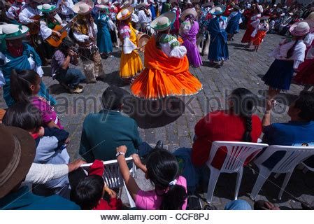 festival in quito stock photo, royalty free image