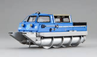 Open Concept Design zil amphibious screw vehicles a cool soviet era invention