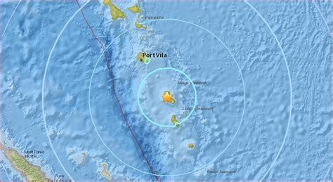 earthquake ring of fire m6 4 earthquake hits vanuatu on september 20 2017