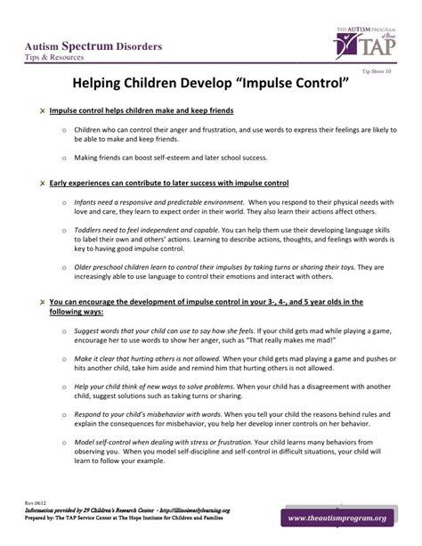 Managing Impulsivity Worksheets by 25 Best Ideas About Impulse On