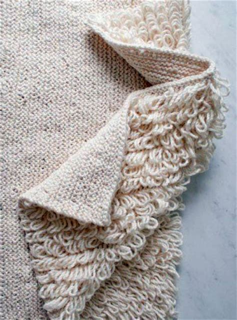 knitted rug pattern rug knitting patterns in the loop knitting