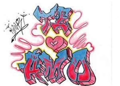 fotos  imagenes rap graffiti  diga te amo