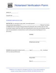 notarized document template best photos of notary forms product sle notary forms