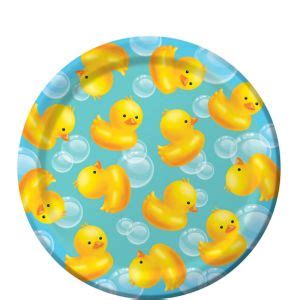 City Baby Shower Plates by Bath Baby Shower Dessert Plates 8ct City