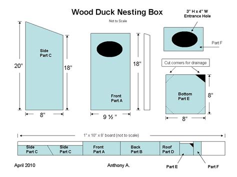 free duck house plans wood duck houses plans cnc wood lathe plans diy ideas 187 freepdfplans downloadwoodplans