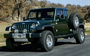 Jeep Truck News Jeep Wrangler Truck Coming In 2016 Vehicles
