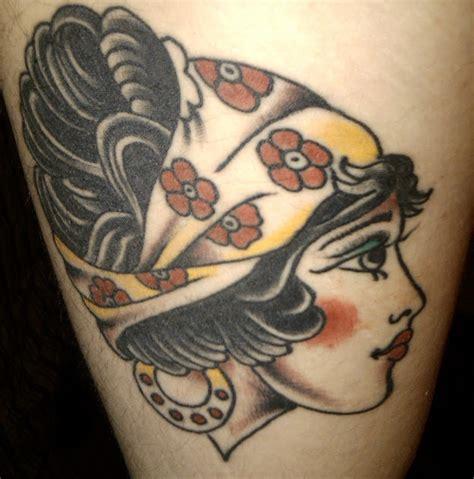 tattoo gypsy girl meaning tattoo flash gypsy head tattoos