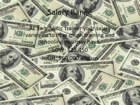 Sports Trainer Salary by Athletic Trainer