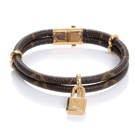 louis vuitton monogram keep it bracelet 47272