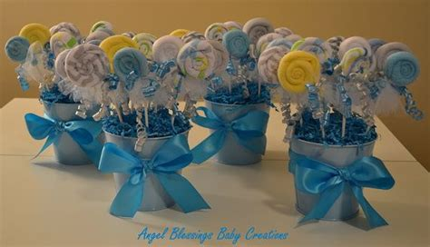 Lollipop Centerpieces For Baby Shower by 17 Best Ideas About Washcloth Lollipops On