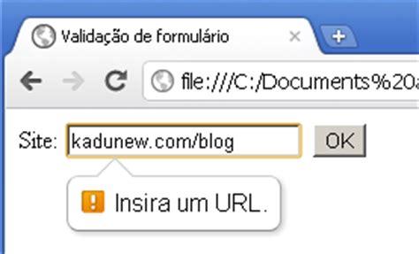 pattern for url validation valida 231 227 o de formul 225 rios com html5
