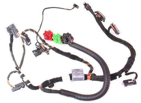 lh front power seat wiring harness 05 08 audi a4 b7