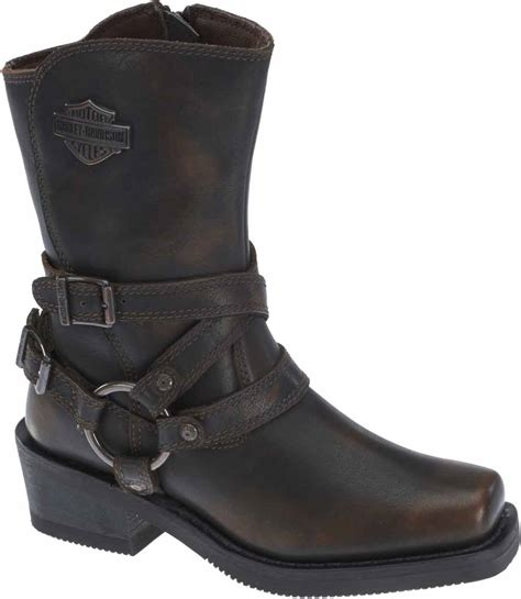 womens motorcycle shoes harley davidson s ingleside 8 5 quot motorcycle boots