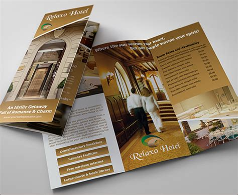 Hotel Brochure Design Templates by 17 Popular Psd Hotel Brochure Templates Free Premium
