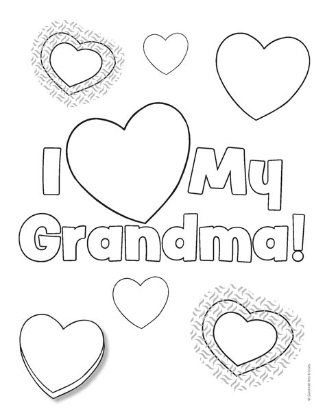 coloring pages i love grandma i love you coloring pages coloringsuite com