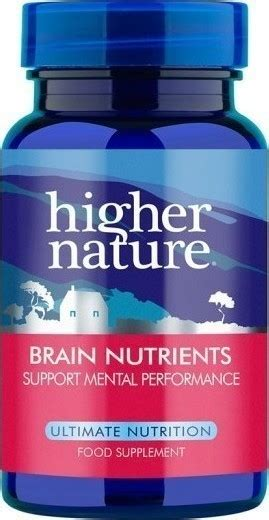 Feed My Brain 30 Tabs higher nature brain nutrients 30 skroutz gr