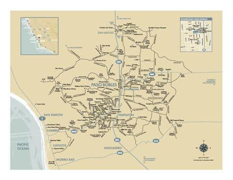 oregon wine country map pdf wine maps paso robles california