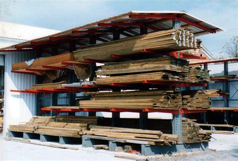 Lumber Racks For by Photos Of Cantilever Rack For Lumber Storage Racks