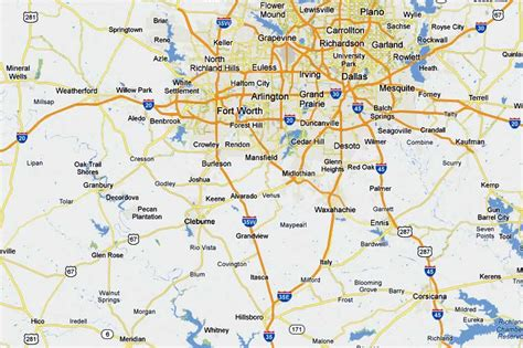 map of cleburne texas ufos lights in the texas sky oval shaped craft emitting beam of light cleburne texas