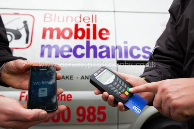 commercial photos for blundell mobile mechanics 17th