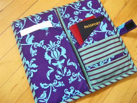 passport holder pattern free 8 tutorials for sewing a passport pouch patchwork posse