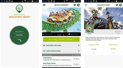 Busch Gardens Ta App by Busch Gardens Mobile Application Florida Review And
