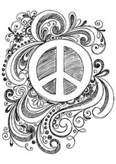 paint a doodle peace sign animal coloring pages catchers am catcher