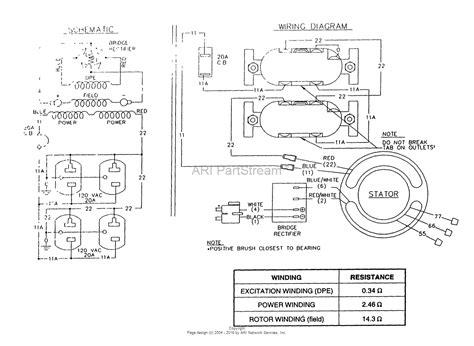 5500 watt generator wiring diagram imageresizertool